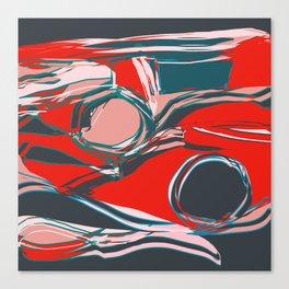Sound Sifting  Canvas Print