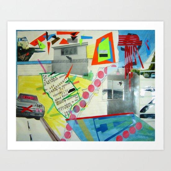 Collage 444 Art Print