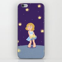 hetalia iPhone & iPod Skins featuring Starry Girl by gohe1090