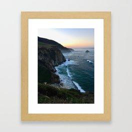 Big Sur Sunrise Framed Art Print