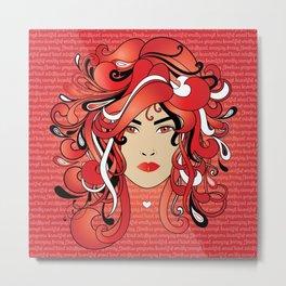 I AM A DELTA WOMAN Metal Print