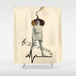 music for life Shower Curtain