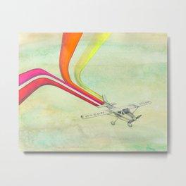 80's Airplane - CESSNA Metal Print