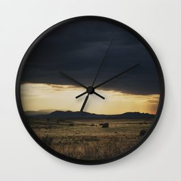 a new mexico storm ... Wall Clock