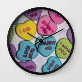 Sweethearts Wall Clock