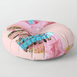 Deliciously Supplied Floor Pillow