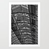 QVB Skylight Art Print