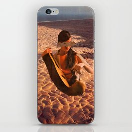 Sand Woman iPhone Skin