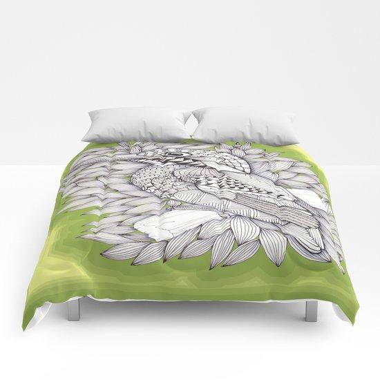 Zentangle Halcyon Comforters