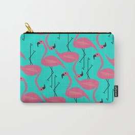 Bright flamingo Carry-All Pouch