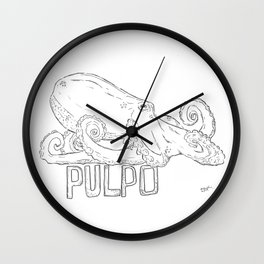 Pulpo Wall Clock