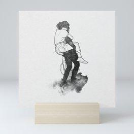 Safety far away. Mini Art Print