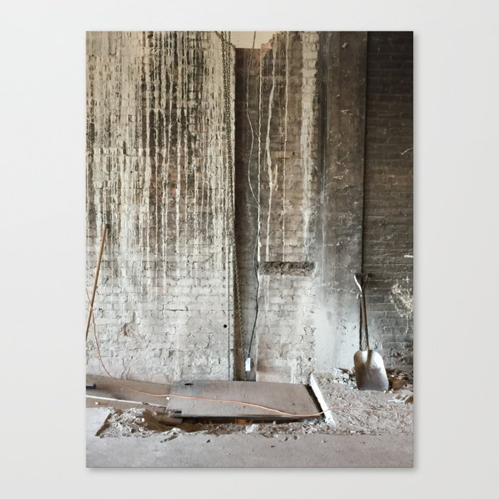Plant Chicago Canvas Print