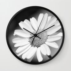 simple flower Wall Clock