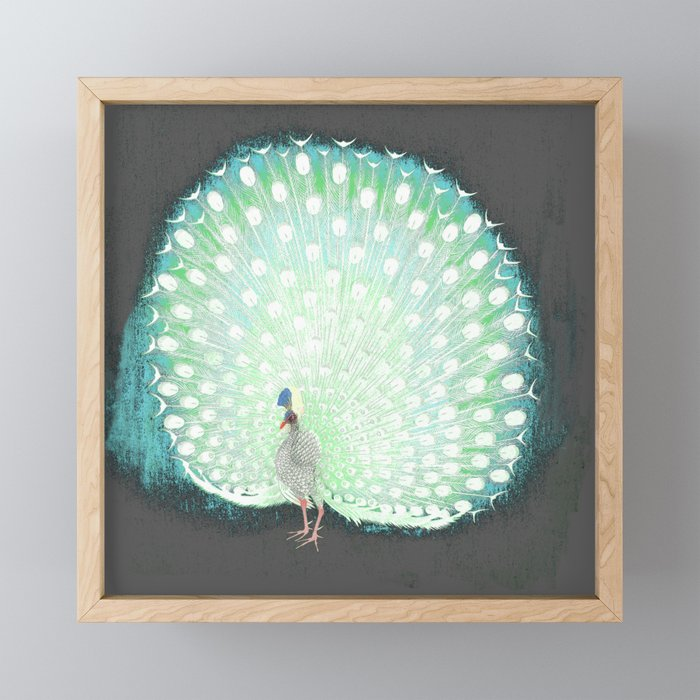The tail that blinds. Framed Mini Art Print
