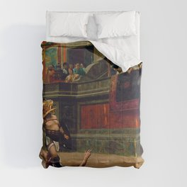 Jean-Leon Gerome - Pollice Verso - Digital Remastered Edition Comforters