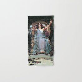 John William Waterhouse - Circe Offering The Cup To Odysseus - Digital Remastered Edition Hand & Bath Towel