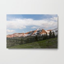 Sunrise Hike in Crested Butte, Colorado Metal Print