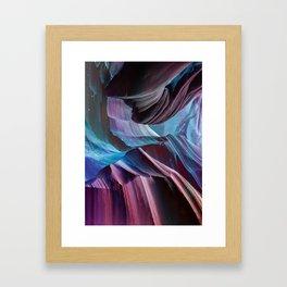 Never Seen Framed Art Print