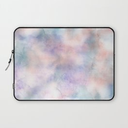 Watercolor Dreams, Abstract Teal, Purple, Blue, Peach Laptop Sleeve