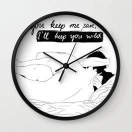 You Keep Me Save Wall Clock