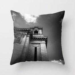 the beholder Throw Pillow