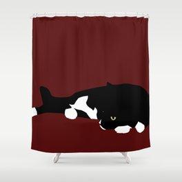 Sigh Shower Curtain
