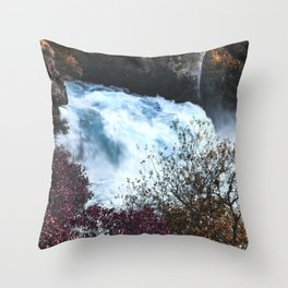 New Zealand River Throw Pillow