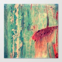 chaos Canvas Prints featuring Chaos by Claudia Drossert