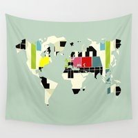 yetiland Wall Tapestries featuring This is not a test by Yetiland