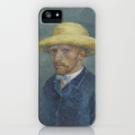 Portrait of Theo van Gogh iPhone Case