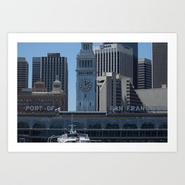 Port of Entry Art Print