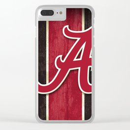 Alabama Football Clear iPhone Case