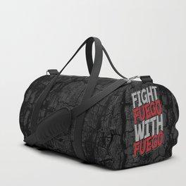 Fight Fuego With Fuego Duffle Bag