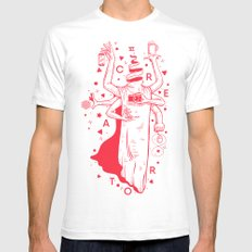 CREATOR SMALL White Mens Fitted Tee