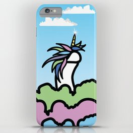Adventures of Steve the Unihorny! iPhone Case