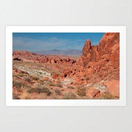 Desert Beauty Landscape Photography Art Print