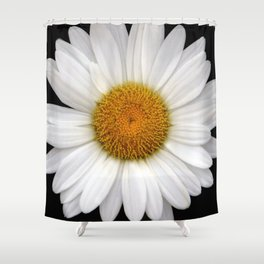 Daisy Pom Shower Curtain