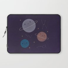 Kawaii Outer Space Laptop Sleeve
