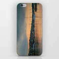 Falmouth Harbour Sunset iPhone & iPod Skin