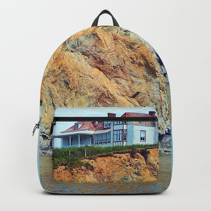 Cliffs of Perce Panoramic Backpack