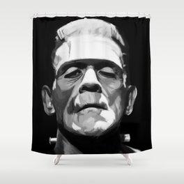 Frankenstien Shower Curtain