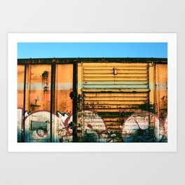 Box Car Porn Art Print