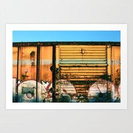 Box Car Porn Art Print