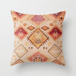 Traditional Oriental Desert Bohemian Moroccan Style  Throw Pillow