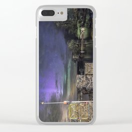 Lobster Trap Aurora Clear iPhone Case
