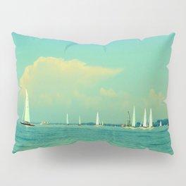 Sailing on Lake Constance Pillow Sham
