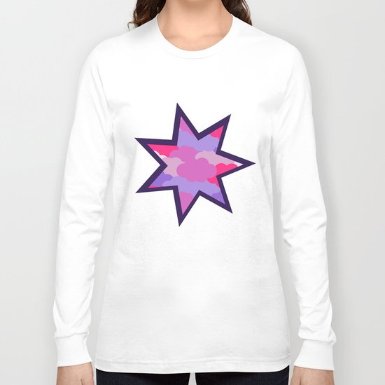 Stars in the clouds Long Sleeve T-shirt