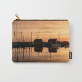 Sunrise at the sea - Harbour Ocean Water Ship Boat Carry-All Pouch