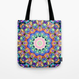 Abstract Spectral Pattern Tote Bag